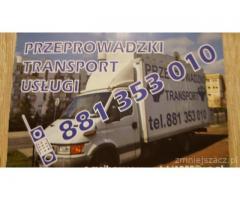 Usługi transportowe, przeprowadzki - profesjonalnie i tanio