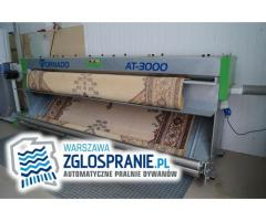 Trzepanie dywanów. Automatyczna pralnia dywanów.
